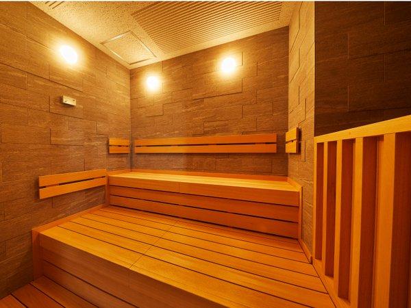 大浴場内ドライサウナ