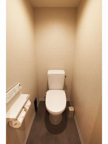 【トイレ】スーペリアツイン・ツインエキストラ・フォースに完備♪