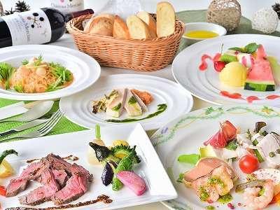 219年夏 イタリアンフルコースはお箸でお楽しみください。