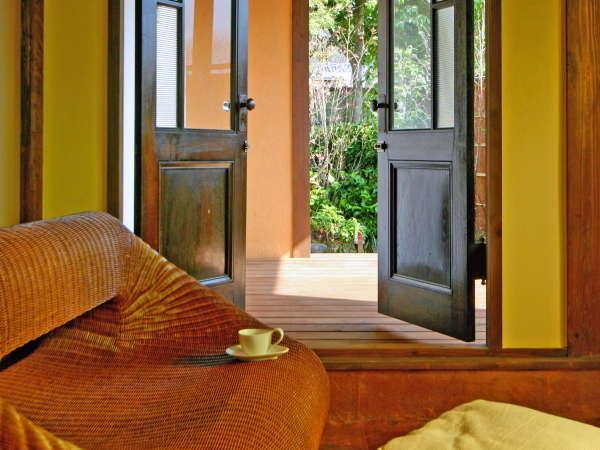 【天地感応】ご滞在中はお好きなだけ、プライベートな空間をご堪能いただけます。