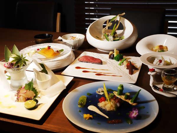 「四国の玄関口」と言われる高松で、四国四県の味を愉しむ。フレンチ懐石