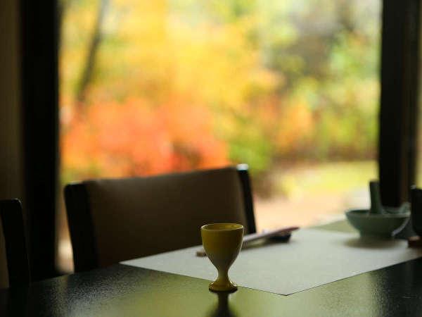 お食事処からの眺め
