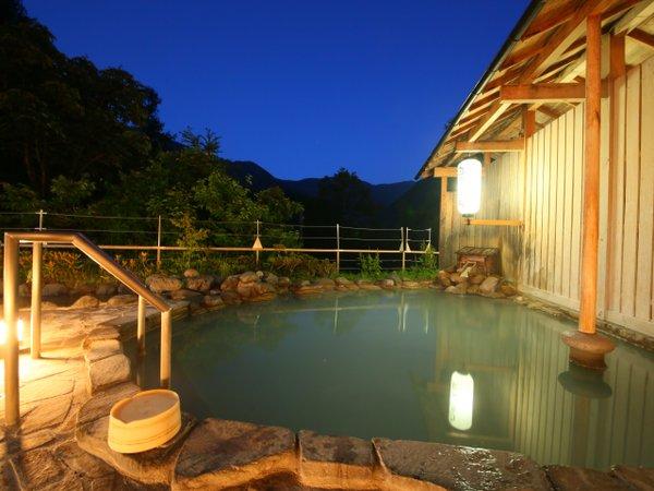 ☆お天気が良ければ露天風呂から満天の星が眺められます☆