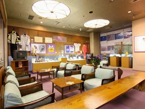 1階ロビー脇にある「小野学ギャラリー」