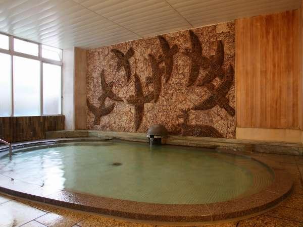 【貸切風呂・黄鶴風呂】は当館1階で皆さまをお待ちしています