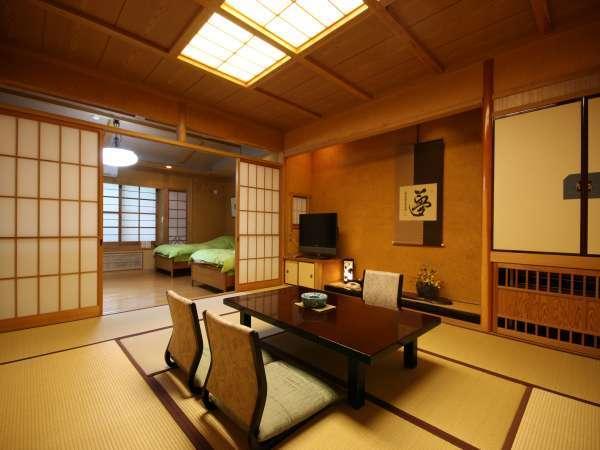 【蘇芳】和室10畳+洋室33㎡の二間。バリアフリー対応