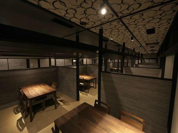 【レストラン】2020年8月全面リニューアル♪個室型で安心(^^