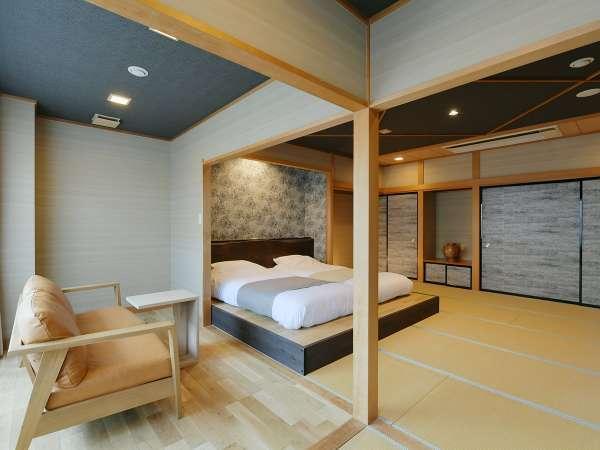 【Dタイプ客室】限定1部屋の露天風呂付客室♪広々としたお部屋で思い出に残る旅行に♪