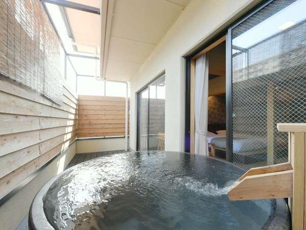 【Dタイプ】限定1部屋の露天風呂付客室♪プライベートな空間でゆっくりと♪