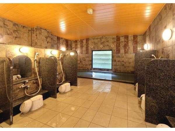 ルートイン自慢の大浴場♪足を伸ばしてゆったりリフレッシュ♪
