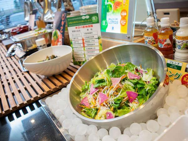 ◆スーパーホテル自慢のサラダでございます◆