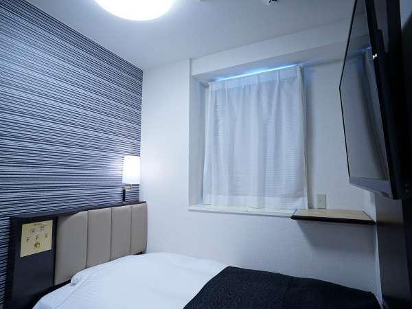 ■客室例:本館シングル(広さ10㎡/ベッド幅100cm×190cm)