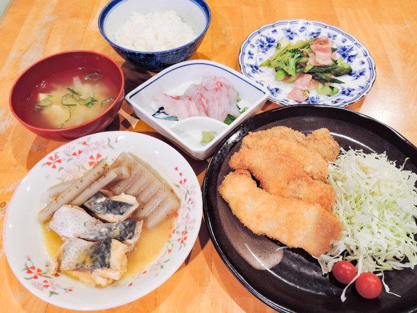 *【夕食一例】日替わり定食