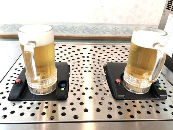 アサヒトルネード生ビール★ジョッキの底から生ビールが注ぎ込まれる不思議なビールサーバー