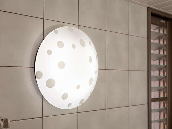 blue moment301号 浴室の照明