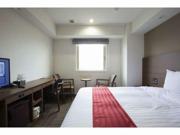 ◆キングルーム広さ24.05㎡/ベッド幅200㎝