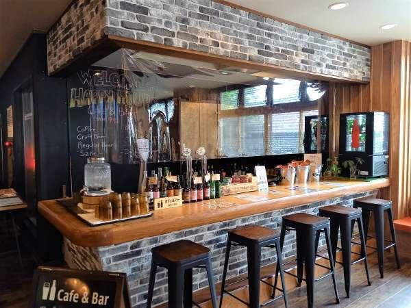 【Hub a Nice Day】マウントインのカフェ&バー。コーヒー、ソフトドリンク、アルコール、おつまみあります