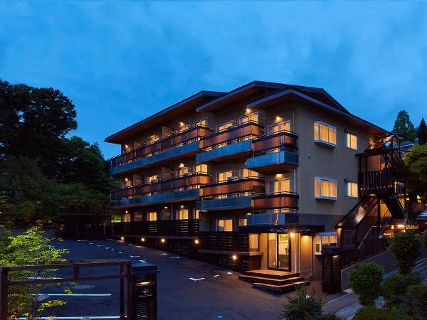 *【外観】強羅駅から徒歩5分!箱根観光の拠点宿に最適★