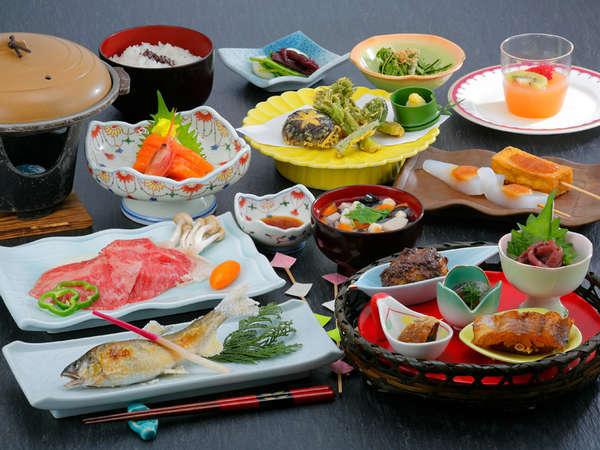 会津郷土料理プランお料理一例