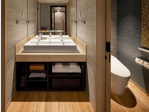 プテミアムツイン テラス付 独立洗面・手洗い