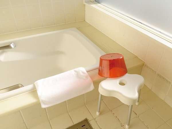 【お風呂は広くて家族連れにも】お子様連れでもゆったり入れます