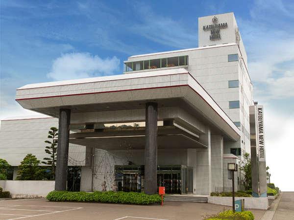 勝山ニューホテル外観