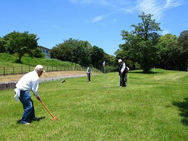 【長崎県グランドゴルフ協会認定グラウンドゴルフ場】クラブとボールのレンタルもございます(有料)