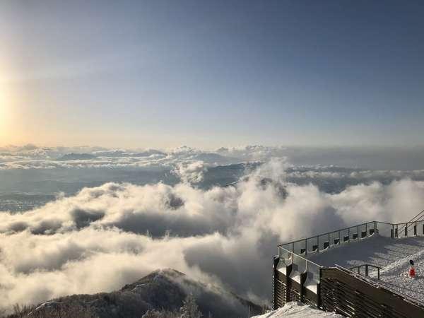 SORAterrace:冬の雲海