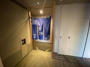 ◆大浴場  男性大浴場入口  男性はルームキーで開錠できます♪