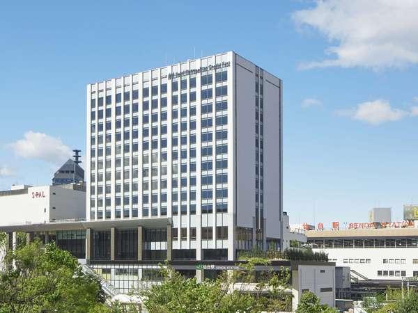 JR仙台駅直結。ホテルメトロポリタン仙台イースト外観