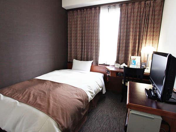 当ホテルのメインルーム スタンダードシングルルーム(ベット幅122㎝)