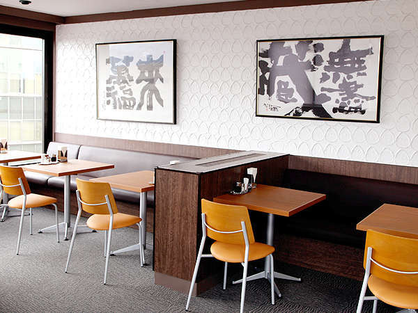 ホテル10F朝食会場より長野市内の景色を一望できます!