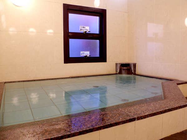 【大浴場(男湯)】温泉ではございませんが、ゆっくりお入りいただけます♪