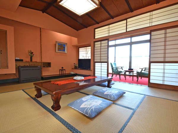 *【和室8~10畳】老舗旅館ならでは。中野重治や伊藤信吉も投宿。