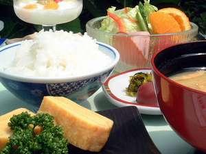 元気な一日は充実の朝食からスタート(例)