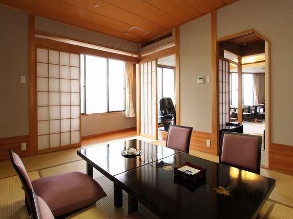 【貴賓室】リビング・和室・マッサージチェアを備えた広々空間