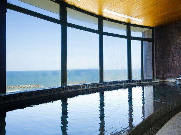 【桐壷の湯】日本海の眺望をどうぞ!