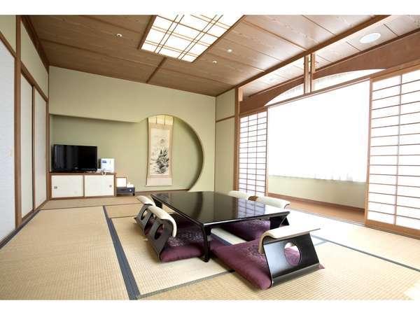 和室12畳 ※5、6名様までお泊りいただけます。