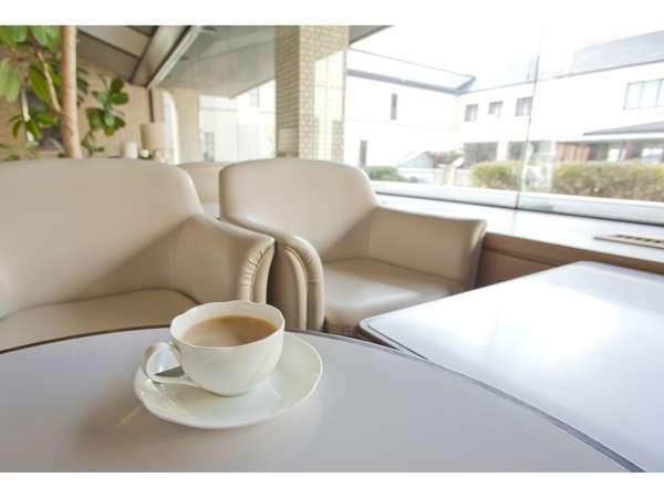 喫茶※中庭を眺めながらコーヒーを♪