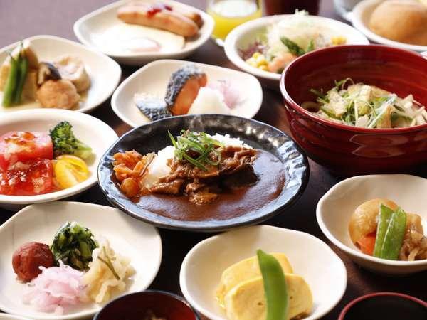 ■朝食盛り付け例■(イメージ)