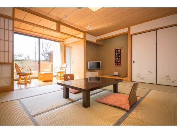 【客室】★阿蘇五岳館客室★和室10畳:ゆっくりとした時間が流れる…特別室、阿蘇五岳館。