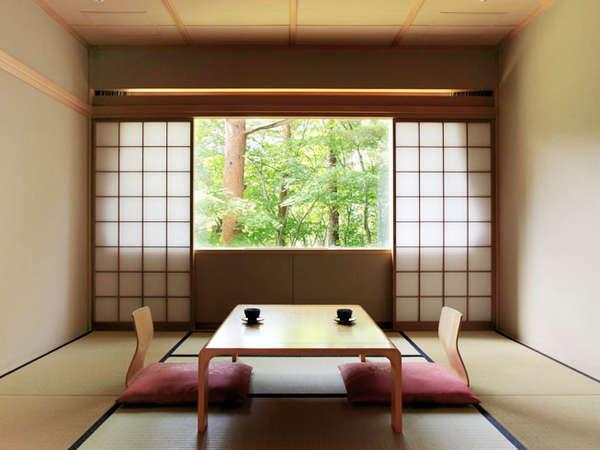 【本館・五色の森】和室/12畳/ファミリーに最適な和室です。