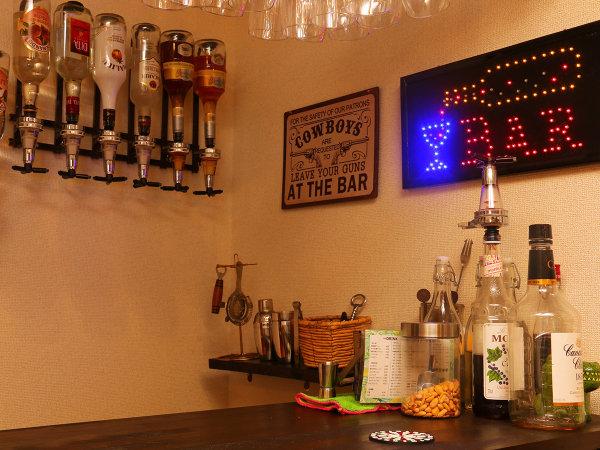 【ミニBAR】20時~22時まではミニバーがオープン♪美味しいお酒とオーナーのトークは必見