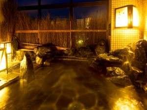 ◆男性大浴場「天然温泉露天風呂」