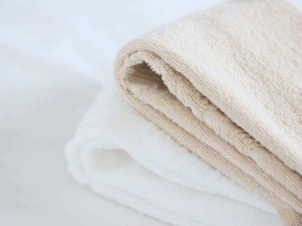 【タオル】・・・色の違う2種類のタオルのあなた好みで♪