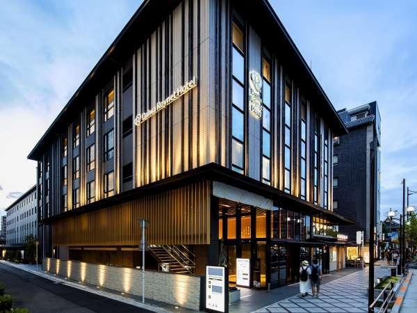 ≪ホテル外観≫ホテルフロントは1Fにございます。JR京都駅より地下道直結!