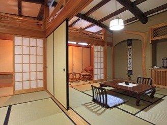 ゆったりとした和の空間をお楽しみください(特別室の一例です)
