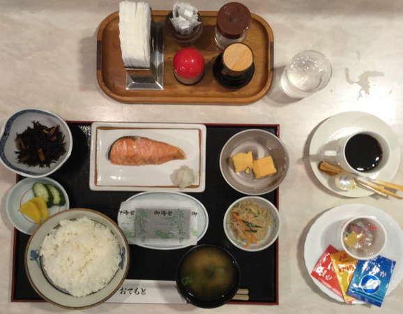 朝食・和食です。