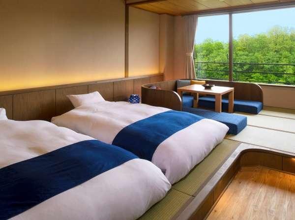 【和室えんつこ】ゆりかごのように包み込まれているような安心感のあるお部屋