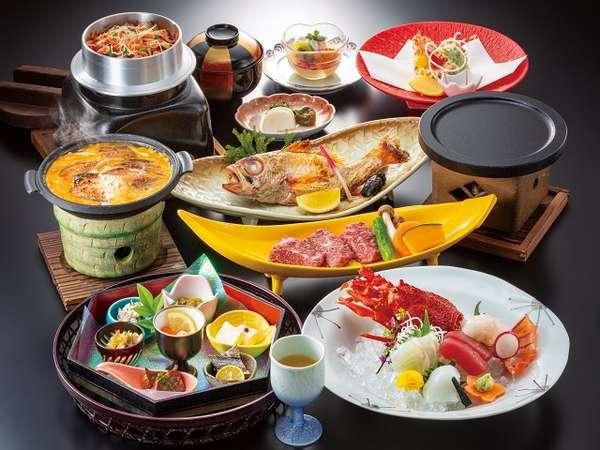 新・七福神会席特選 メイン料理最大2品をチョイス